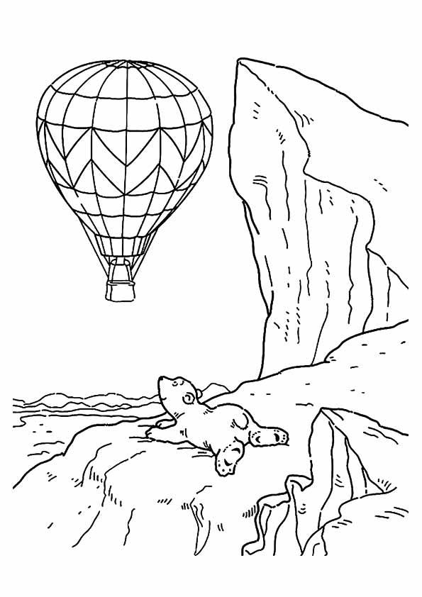 heißluftballon ausmalbilder  malvorlagen  100 kostenlos