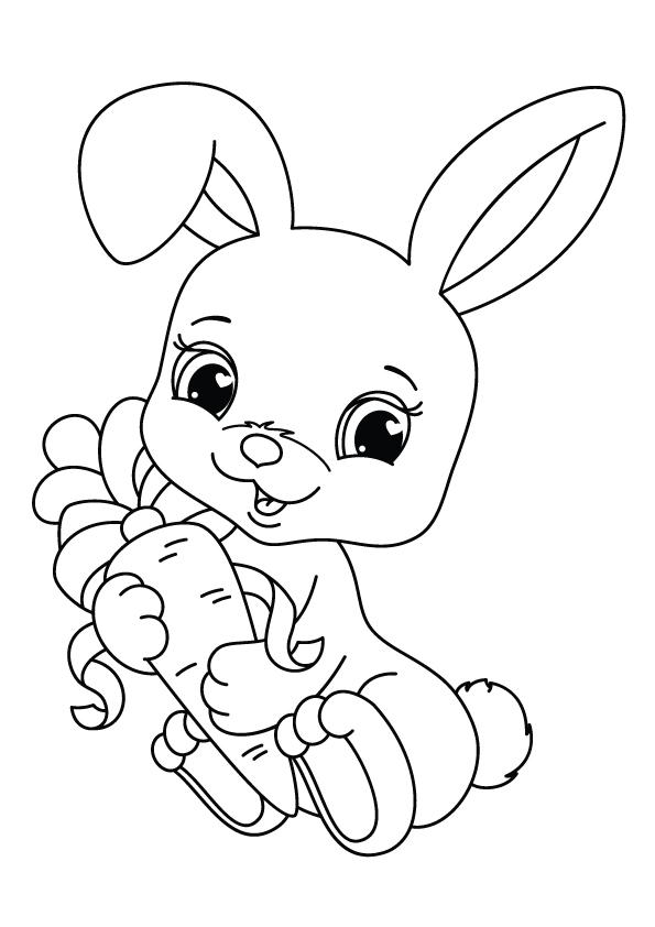 kaninchen: ausmalbilder & malvorlagen - 100% kostenlos
