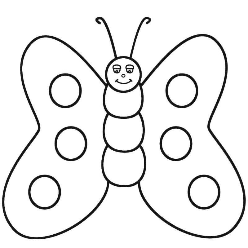 Schmetterling: Ausmalbilder & Malvorlagen - 100% KOSTENLOS
