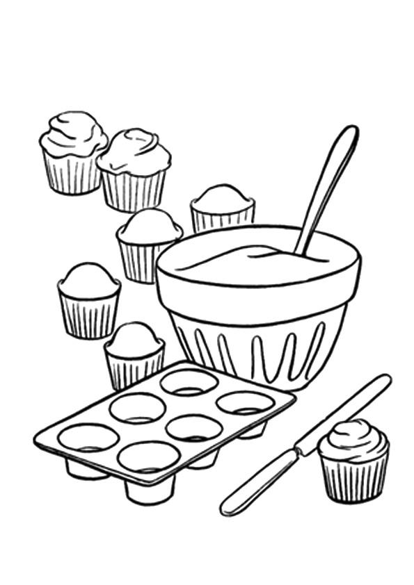 kuchen  torte ausmalbilder  malvorlagen  100 kostenlos