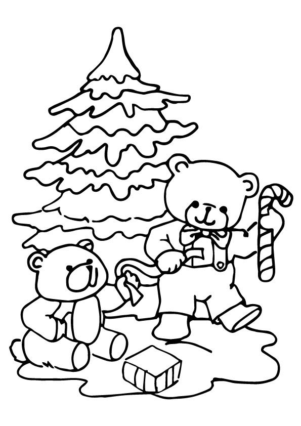 weihnachtsbaum: ausmalbilder & malvorlagen - 100% kostenlos