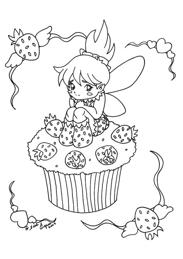 cupcake  muffin ausmalbilder  malvorlagen  100 kostenlos