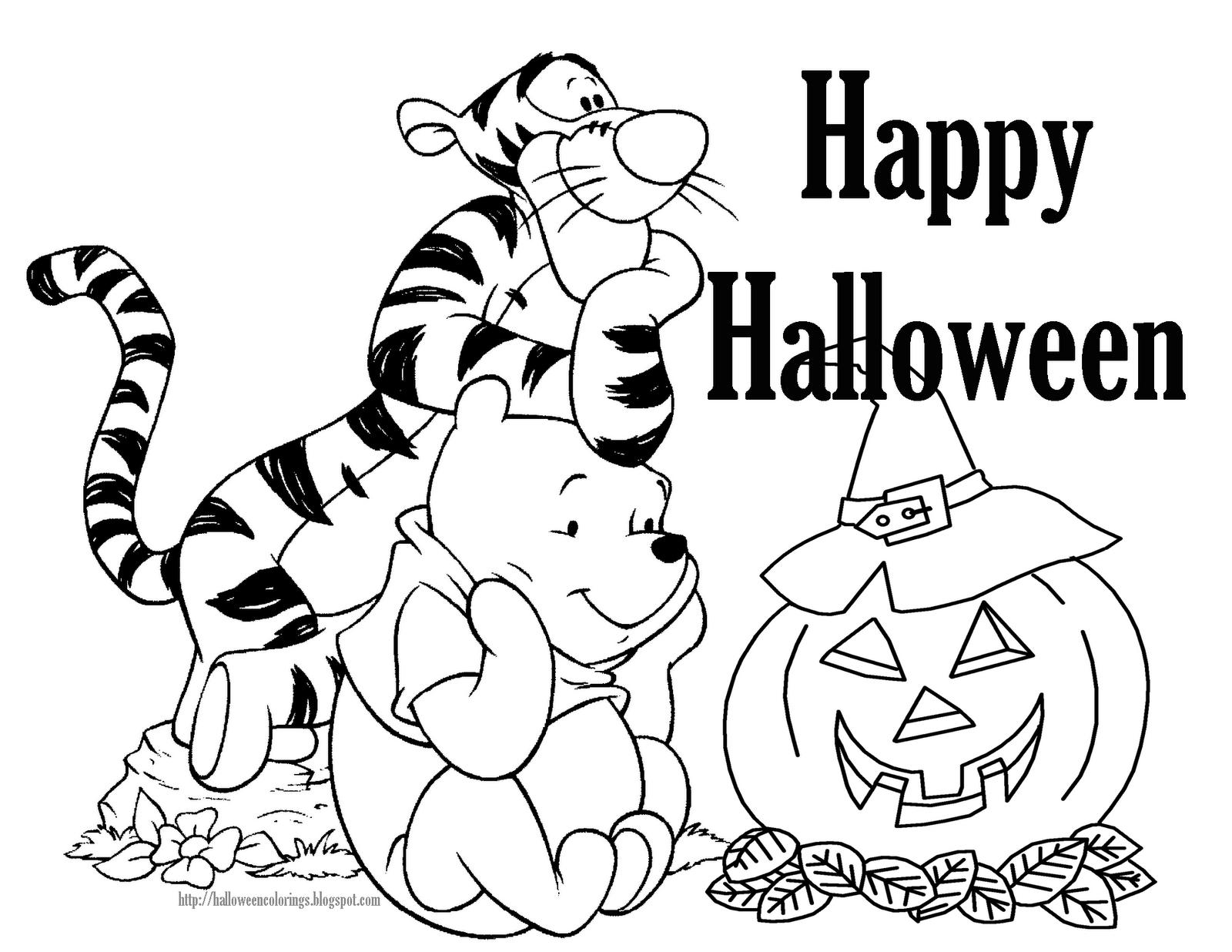 disney halloween ausmalbilder  malvorlagen  100 kostenlos
