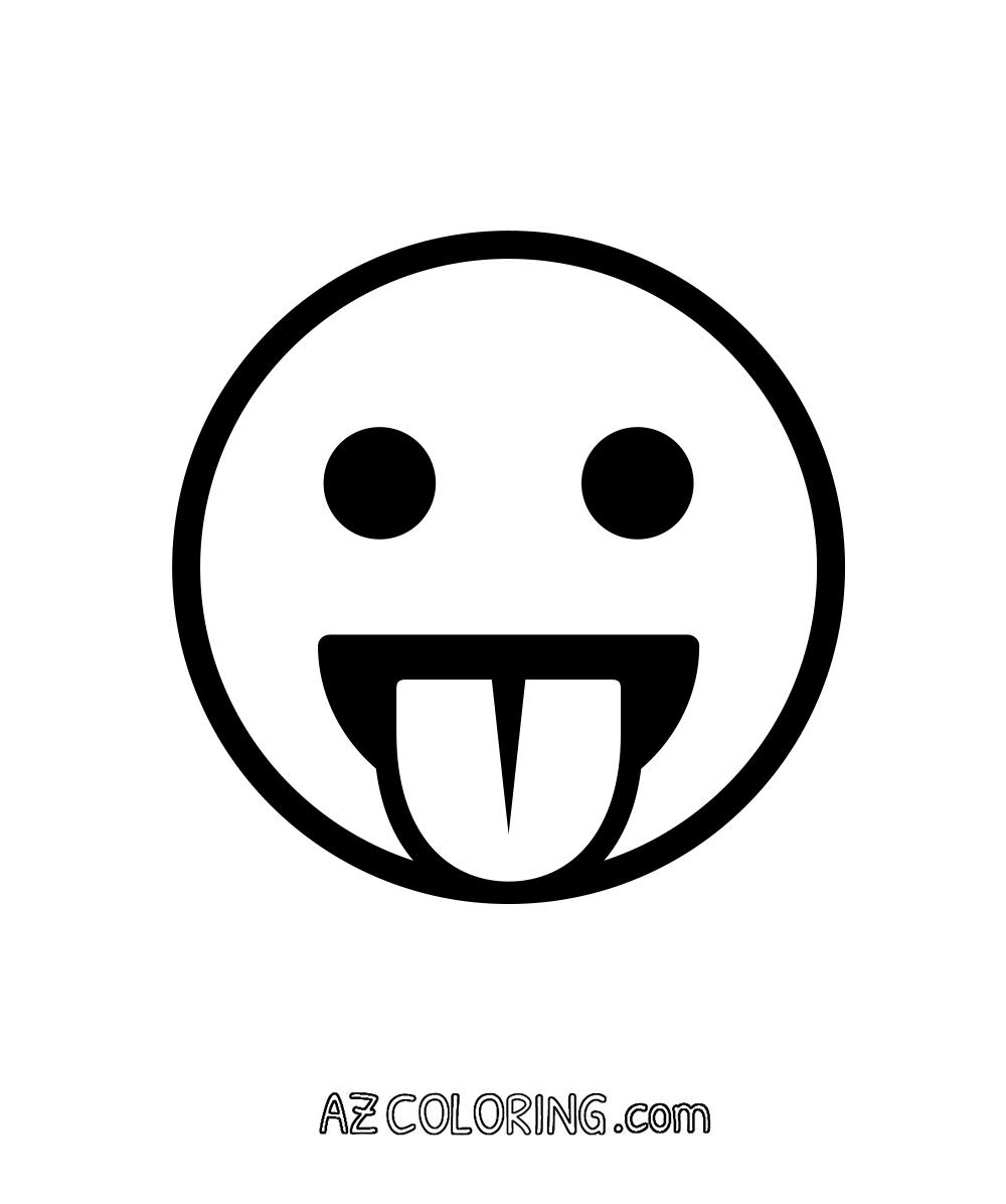 ▷ Emoji: Ausmalbilder & Malvorlagen - 18% KOSTENLOS