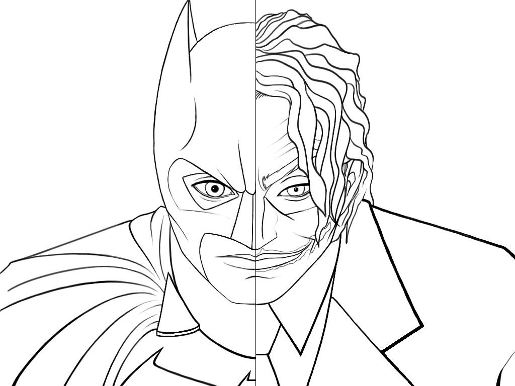 ▷ Joker: Ausmalbilder & Malvorlagen - 8% KOSTENLOS