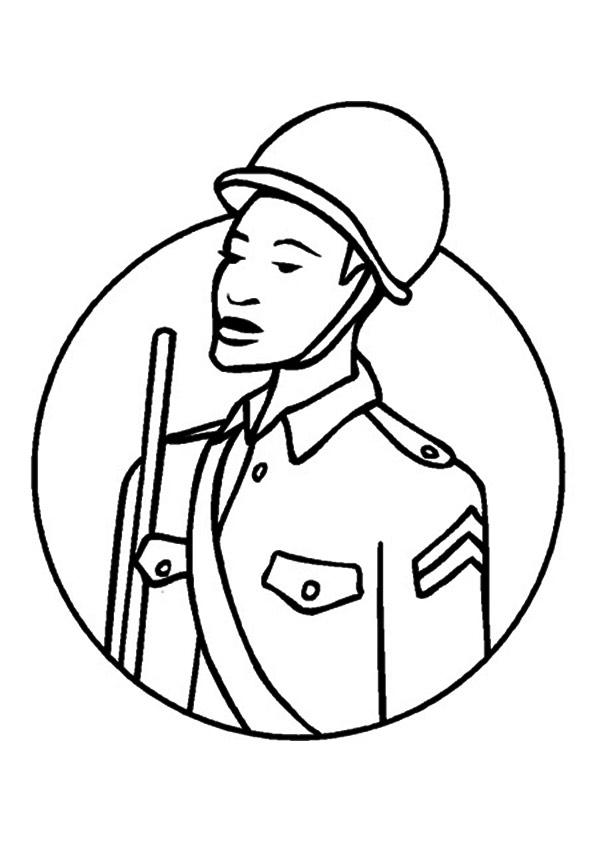 militär & bundeswehr & armee: ausmalbilder & malvorlagen