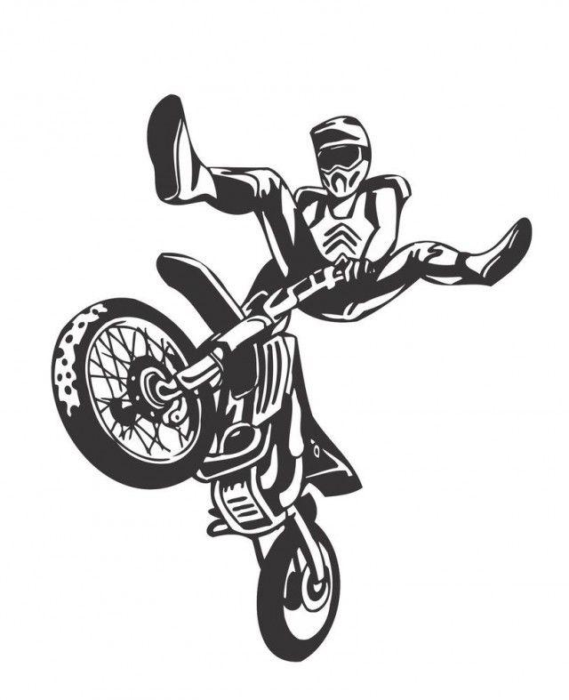 motorcross ausmalbilder  malvorlagen  100 kostenlos