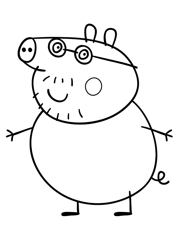 peppa pig ausmalbilder  malvorlagen  100 kostenlos