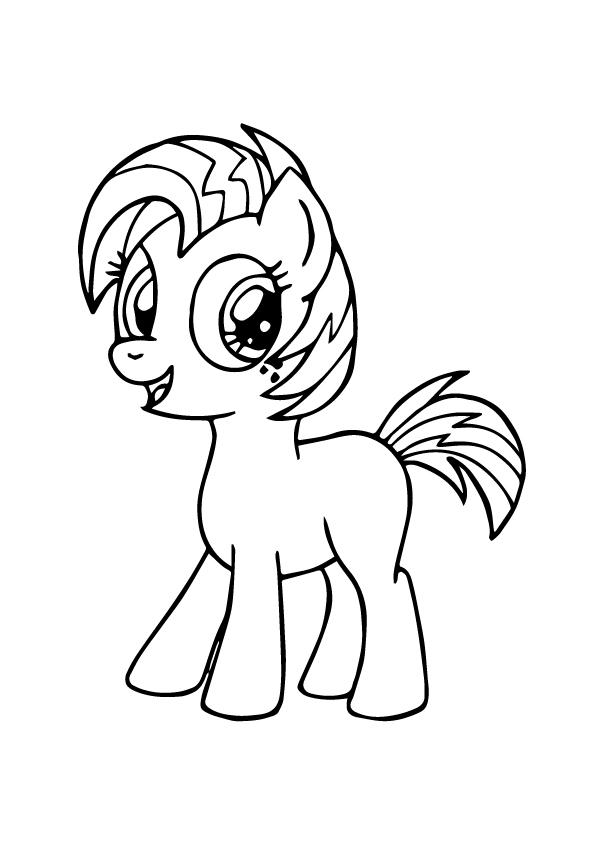 pony ausmalbilder  malvorlagen  100 kostenlos