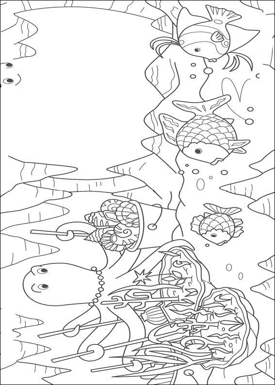 regenbogenfisch: ausmalbilder & malvorlagen - 100% kostenlos