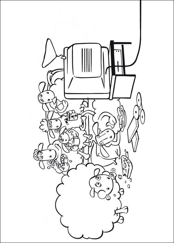 Shaun das Schaf: Ausmalbilder & Malvorlagen - 100% KOSTENLOS