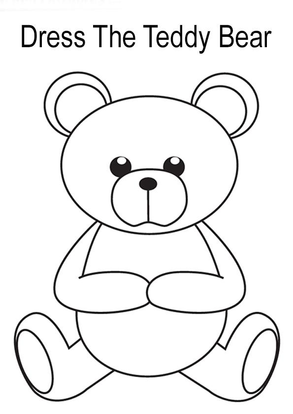 teddy bär ausmalbilder  malvorlagen  100 kostenlos