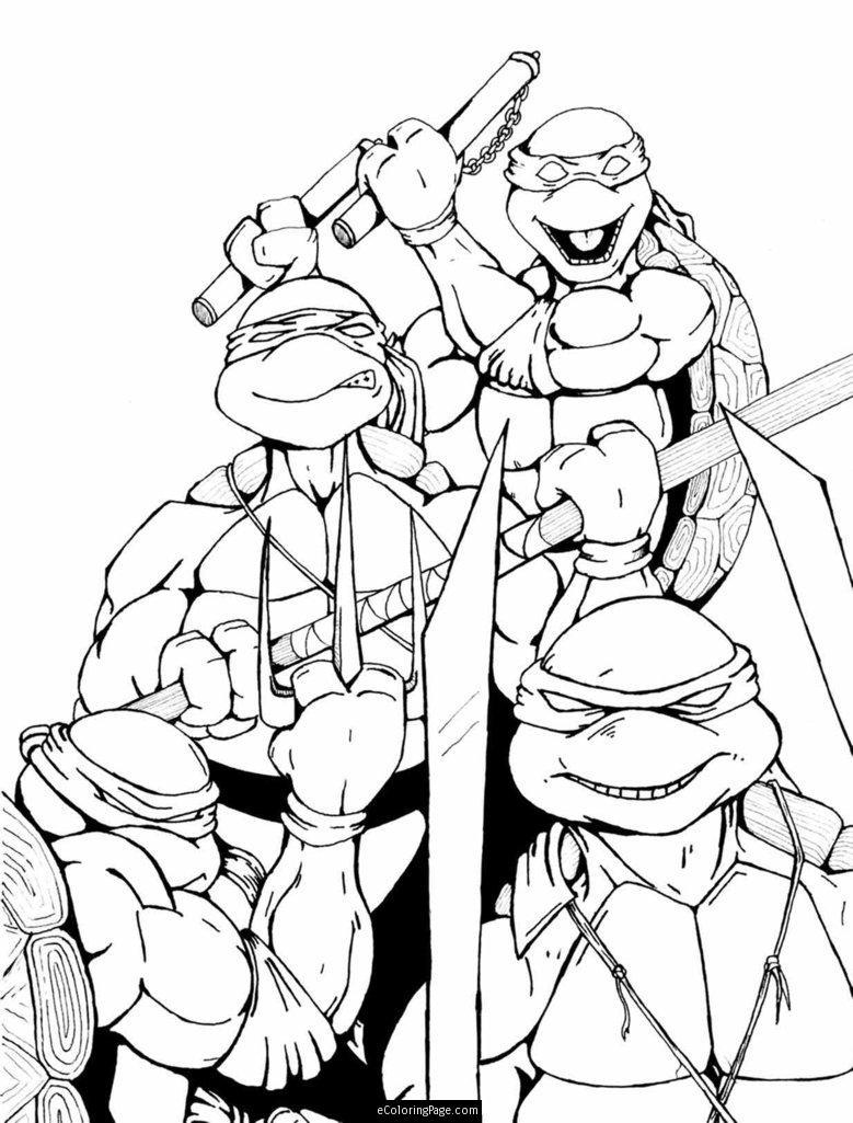 teenage mutant ninja turtles ausmalbilder  malvorlagen