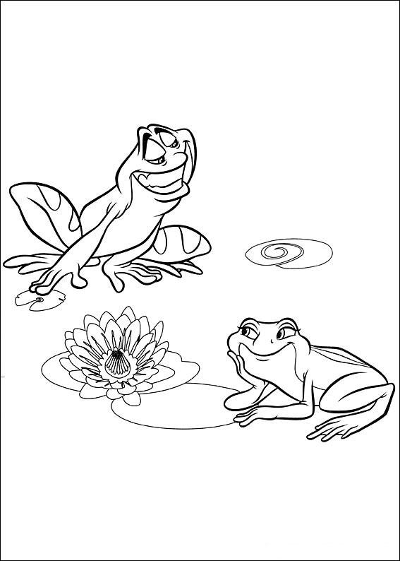 küss den frosch ausmalbilder  malvorlagen  100 kostenlos
