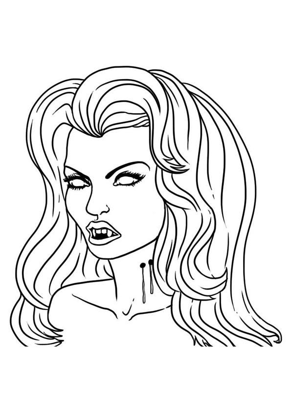 Zum vampir ausdrucken kostenlos bilder Ausmalbilder Vampire
