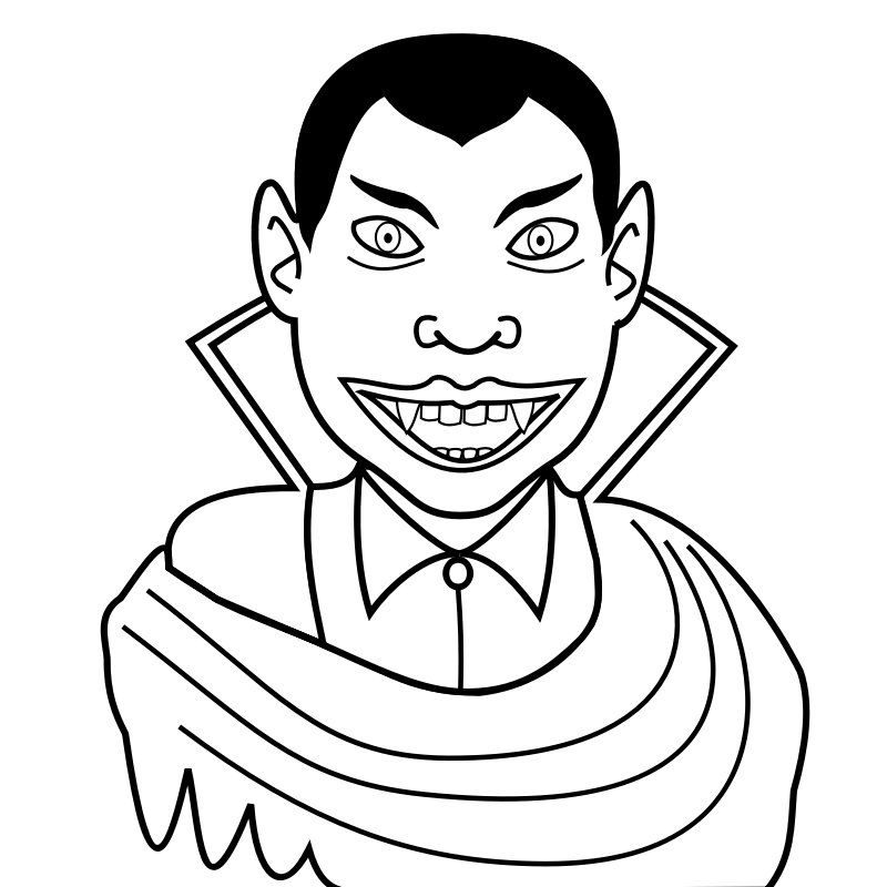 vampir ausmalbilder  malvorlagen  100 kostenlos