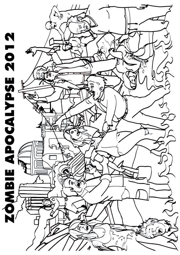 zombie ausmalbilder  malvorlagen  100 kostenlos