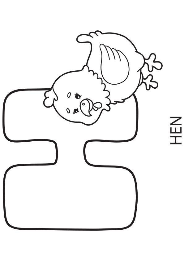 alphabet & buchstaben: ausmalbilder & malvorlagen - 100%