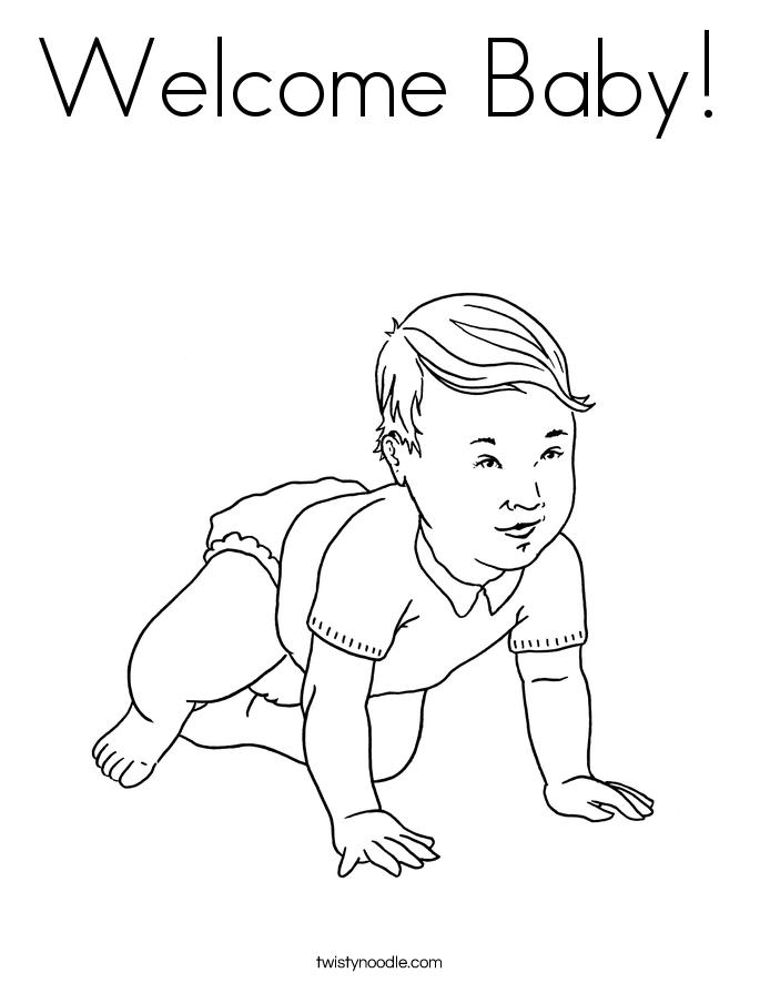 geburt  baby  neugeborenes ausmalbilder  malvorlagen