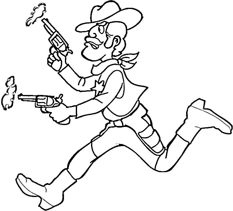 cowboy ausmalbilder  malvorlagen  100 kostenlos