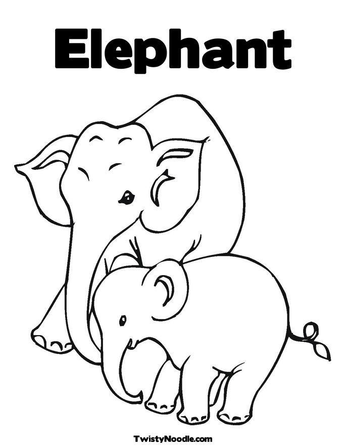 elefant ausmalbilder  malvorlagen  100 kostenlos