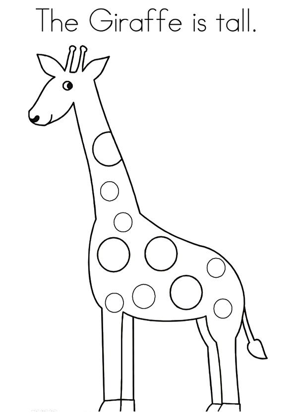 giraffe ausmalbilder  malvorlagen  100 kostenlos