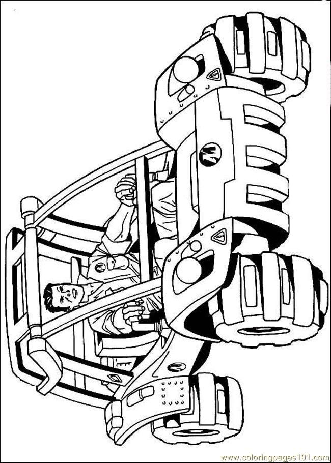 Hot Wheels: Ausmalbilder & Malvorlagen - 100% KOSTENLOS