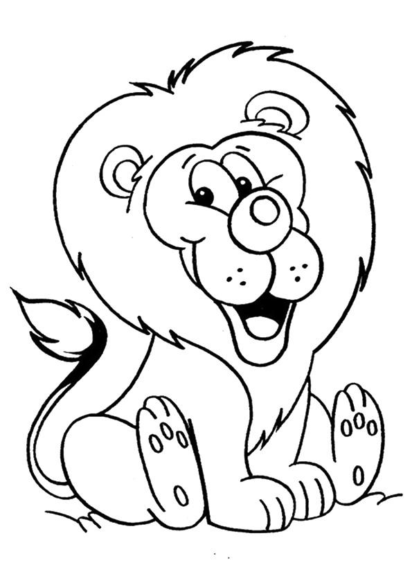 löwe ausmalbilder  malvorlagen  100 kostenlos