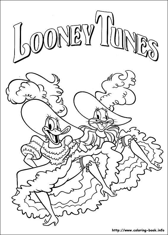 looney tunes ausmalbilder  malvorlagen  100 kostenlos