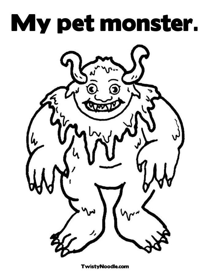monster ausmalbilder  malvorlagen  100 kostenlos