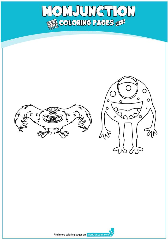 die monster ag ausmalbilder  malvorlagen  100 kostenlos