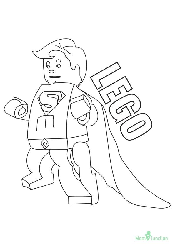 superman: ausmalbilder & malvorlagen - 100% kostenlos