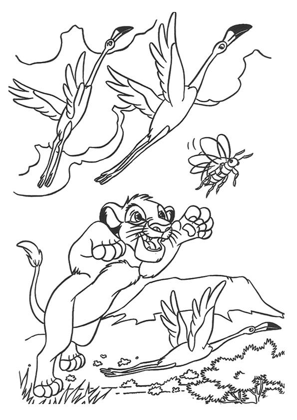 könig der löwen ausmalbilder  malvorlagen  100 kostenlos