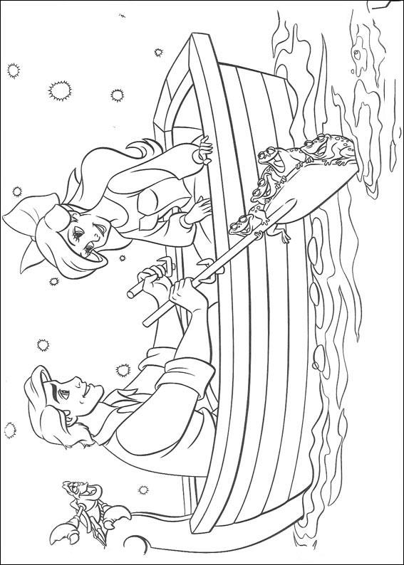 arielle die meerjungfrau: ausmalbilder & malvorlagen - 100