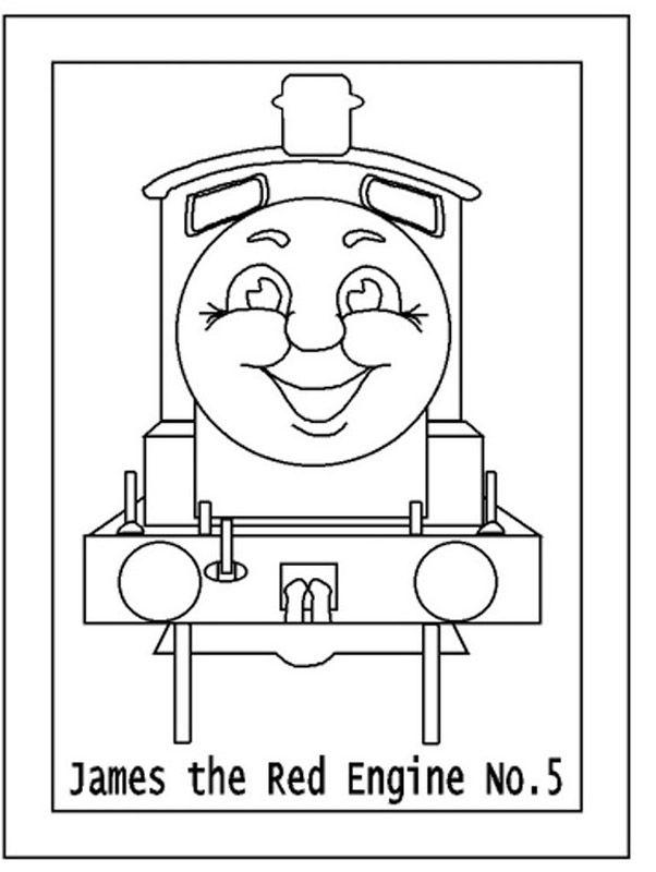 thomas die kleine lokomotive ausmalbilder  malvorlagen