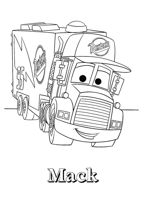 lkw & truck: ausmalbilder & malvorlagen - 100% kostenlos